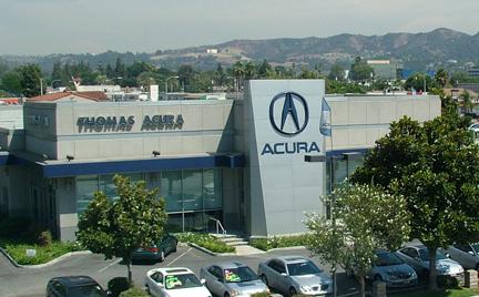 Hall Acura on California Lutheran University